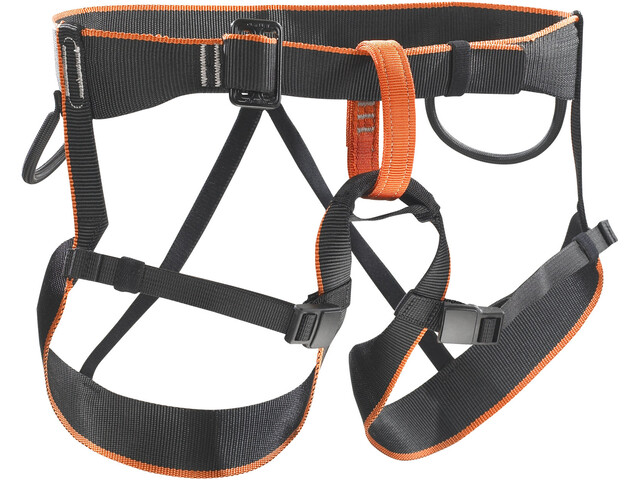 Klettergurt Edelrid Fraggle Xs : Skylotec pyrit harness kids black orange campz.ch